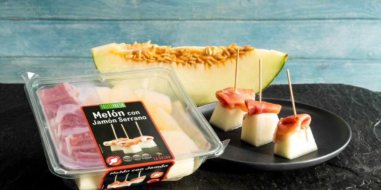 Vicente Peris y La Selva se unen para elevar el melón con jamón de IV gama a la categoría gourmet
