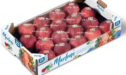 Más de 100 millones de manzanas Marlene® debutan con su nueva imagen