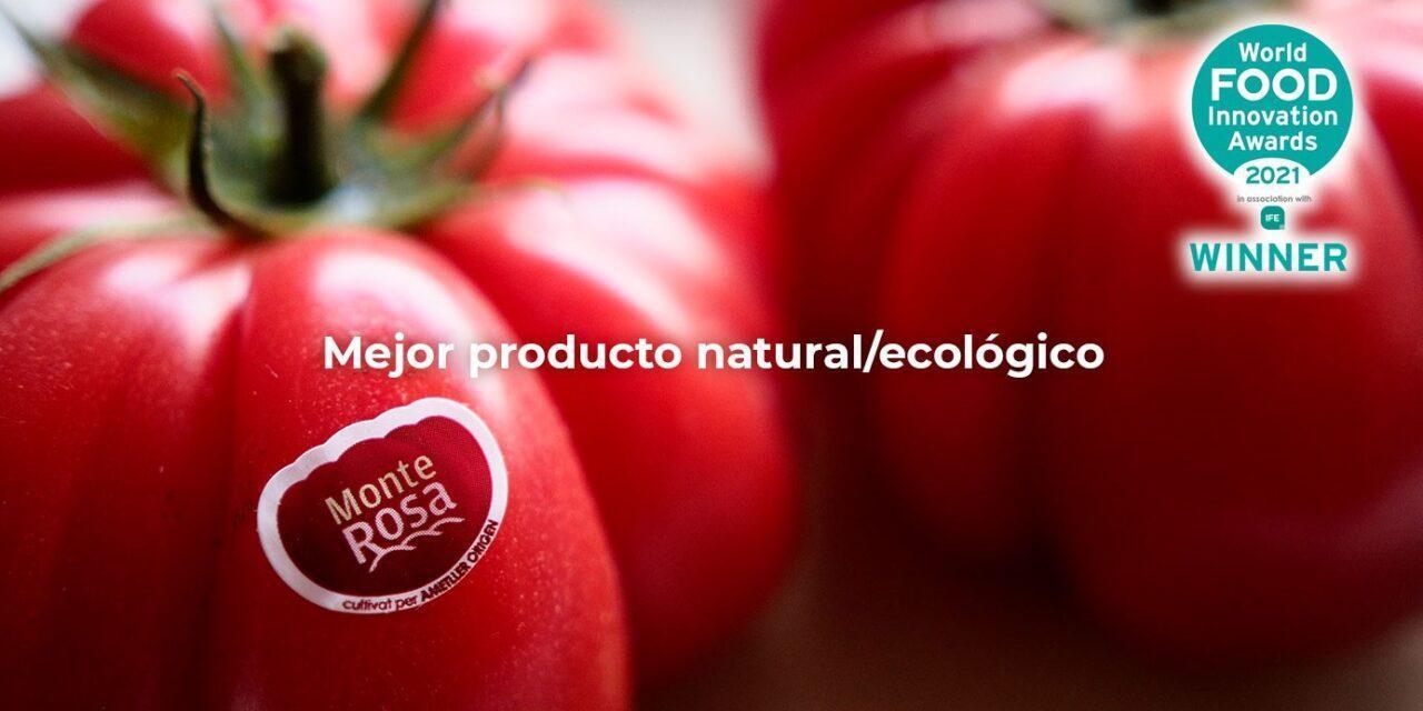Premio al tomate Monterrosa en los World Food Innovation Awards