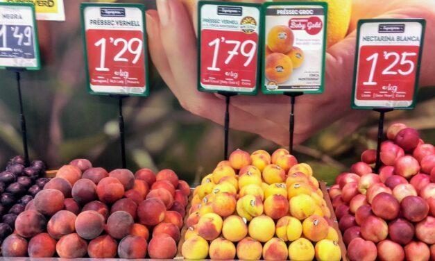 Frutas de hueso, más melocotones y menos ciruelas