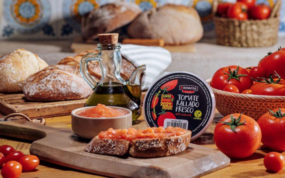 De nuevo el tomate rallado de Bonnysa se lleva el premio Sabor del Año