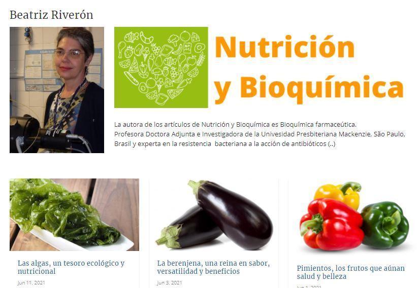 Nutrición y Bioquímica