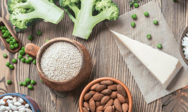 Alimentos vegetales ricos en calcio