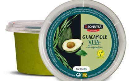 """Un guacamole con espirulina para """"disfrutar cuidándose"""" de Bonnysa"""
