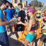 Bimi protagonista en la maratón de Valencia