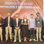 Las tres mejores startups de alimentación, premiadas por ftalk´s21
